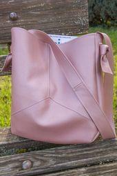 Nähanleitung für eine stylische Tasche nach einem Schnitt von BERNINA