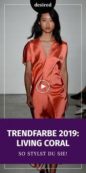 Hoi verwacht: Dit zal de trend kleur 2019 #outfit #outfitideeen #damesmode – Outfit Ideeën
