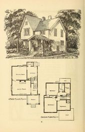 47 trendy house old style floor plans
