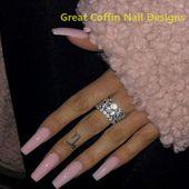 20 trendige Sarg Nail Art Designs #nailart