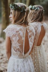 67 boho style wedding dresses: the hottest trend for your wedding party!