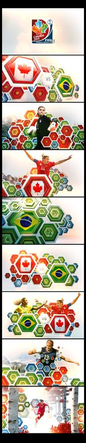 Board Concepts for WOMENS WORLD CUP 2015 on Behance