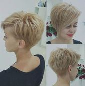 hairstyles short blond – #Blond # hairstyles # hairstyles2019damen # hairstyle prom #fr