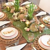 ▷ 1001 + ideas for beautiful Easter table decorations to wow your guests   – Spring ideas