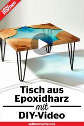 Pour epoxy table: DIY instructions with video   – MATERIAL | Epoxidharz