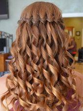 """Frisur """"French Falls"""" für kurzes, mittleres und langes Haar"""