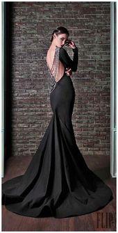 30+ Abiti da sposa neri con eleganza spigolosa »GALA Fashion