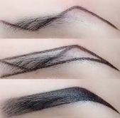 Z-type eyebrow makeup technique – #Eyebrow #Makeup…