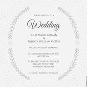 72 wunderschöne Hochzeitseinladungen zum kostenlosen Download! – #Hochzeit   – einladungskarte