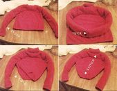 13 # Ideas de bricolaje #fr #Viejo #Suéter #Makeovers # #diy # #pullover # #sweaters # #machen # #make …   – decke