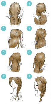 20 cute hairstyles that are extremely easy to do – hairstyle models