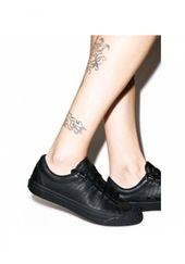 Schwarze Irvine Sneakers
