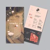 Illustrator Business Card LA   Festival de vocalistas femeninas by Dolores Oliver, via Behance