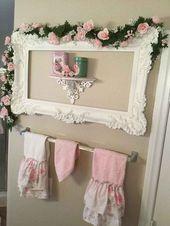 55 Beautiful Shabby Chic Bedroom Decorating Ideas