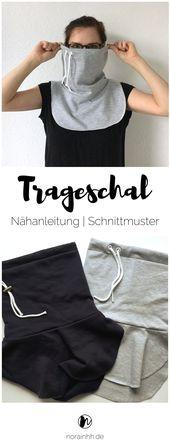 porter une écharpe   – sew! clothes & accesoirs: free patterns, ideas, etc