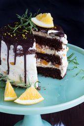 Gluhweintorte Mit Orangen Rosmarin Creme Foodblogger Adventskalender Sasibella Rezept Kuchen Und Torten Lecker Weihnachtsrezepte