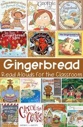 Lebkuchenaktivitäten für den Kindergarten {Bücher, FREEBIE und MEHR!} – Christmas