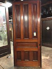 Antique Pine 7 Panel Pocket Door 42 X103 Great Sliding Track
