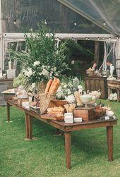Food Bar-Ideen für Ihre Hochzeit – #barideas #Bar…
