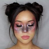 20 einfache, aber brillante Halloween-Kostüm-Make-up-Tutorials von Instagram