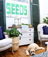 Blue and Green Summer Decorating Ideas