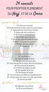 24 conseils pour tirer le meilleur du Hajj et de la Omra