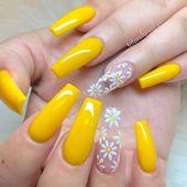 Spring Fever Nails – 50 Super Cute Spring Nails – FavNailArt.com