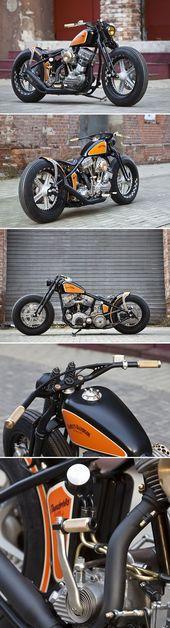 FlyingPan: Thunderbikes zeitlose Harley von 1951   – Custom Harley-Davidson Motorcycles