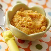 Hühner- und Süßkartoffelpüree   – Food for baby