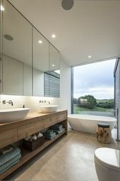 Modern Bathroom – Ideas for Inspiration – 140 Photos! – Archzine.net