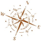 Vintage Papier mit Kompass Rose – … | Stock-Vektor | Colourbox