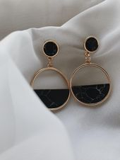 Raw Uncut Emerald Earrings, Emerald & 14K Rose Gold Fill, Prong Student …