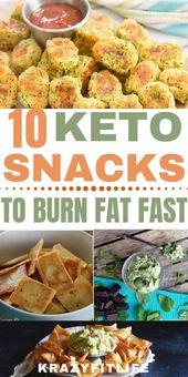 10 Crazy Easy Keto Snacks, die Ihnen beim Abnehmen helfen
