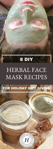 8 DIY Herbal Face Mask Recipes for Holiday Gift Giving