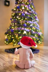 29+ Ideas baby photography christmas 6 months – Baby christmas photos