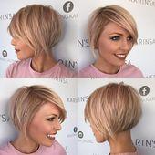 11x stylische Schnitte in den schönsten Blondtönen! Get your summer look now!! – Damen Frisuren #bobpixie