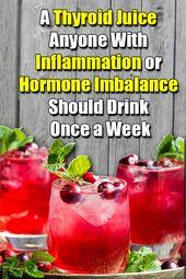 Thyroid Healing Juice Remedy