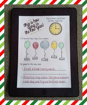 """This Is How 'iRing' In The New Year"" Printable Activity & Bulletin Board Idea"