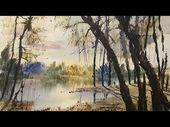 Wie man mit Steven Cronin Aquarelllandschaften malt – YouTube