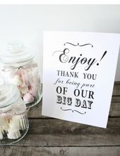 Shabby Chic/Vintage Candy Buffet Sign/Candy Bar/Sweets/Table Sign/Wedding/ 10003  | eBay