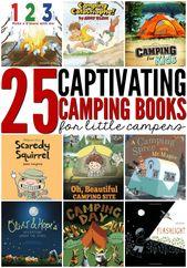 25 spannende Campingbücher für Kinder   – camping classroom theme