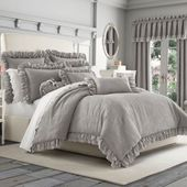 Bring a romantic, feminine look to your bedroom space with the Piper & Wright Em...