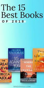 Die besten Bücher des Jahres 2018