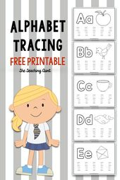 Alphabet Tracing Free Printable