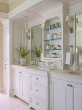 40+ Magnificient Bathroom Cabinet Design-Ideen   – Master Bath Ideas