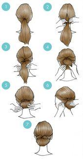 20 penteados fofos que são extremamente fáceis de fazer   – Beliebte Frisuren