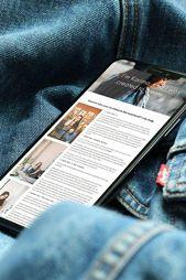 #karimacreative Mobile website design mockup by Karima Creative. Squarespace web…