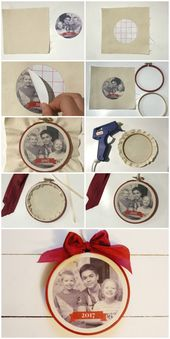 Christmas Picture Decoration Craft