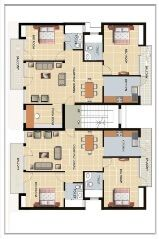 2534j811908207 Firstfloorplan 67278lnews Jpg Apartment Floor Plans Residential Building Plan Basement House Plans