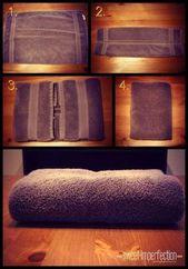 Wie man Laken Decken und Tischdecken mit der Konma…